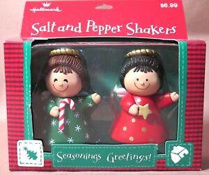 Vintage Hallmark Angel Salt and Pepper Shaker Set