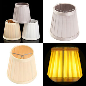 Dettagli su Paralume Tessuto luce lampada a soffitto Lampshade da tavolo stile europeo ombra