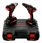 Parker PTDS-1830 18V Cordless Hammer Drill and Impact Driver Set