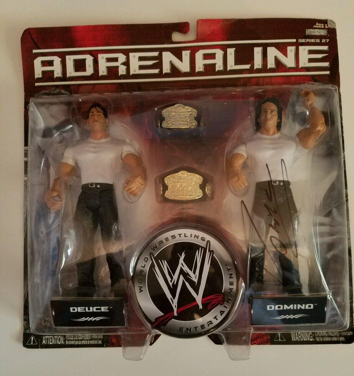 NIB WWE Deuce and Domino action figures