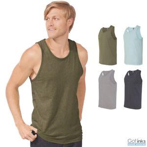 27796b556482c3 Next Level CVC Men s Tank Top Muscle Gym Sleeveless Soft Tee A-Shirt ...