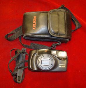 Pentax-Zoom-105-R-Point-amp-Shoot-Auto-Focus-35mm-Film-Camera