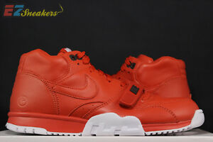 NIKE AIR TRAINER 1 MID SP / FRAGMENT RUST BRICK 806942-881 NEW SIZE 10