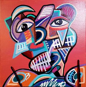IMPRESSIONISM ARTWORK HALLWAY WALL ART ORIGINAL CANVAS CONTEMPORARY ART DESIGN