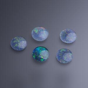 MUY-BONITA-Triplete-opalo-de-AUSTRALIA-10mm-Redonda-Cabujon