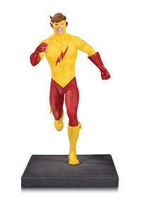 The New Teen Titans Kid Flash Multi-Part Statue Diorama Dc Comics