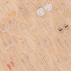 Cute-Transparent-Fish-Smile-Face-Pendant-Earrings-Ear-Dangle-Decor-Charm-Jewelry
