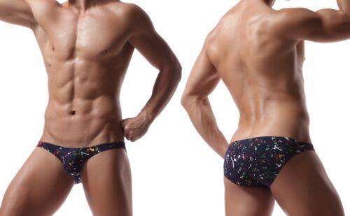 Fashion Hommes Coton Sous-vêtements taille basse U convexe Design Boxer
