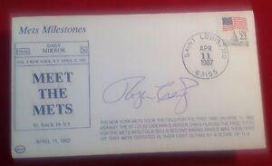 Roger Craig signed 1987 Meet the Mets Cachet PSA/DNA Cert# W40412