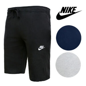 Nike-Men-039-s-Sport-Shorts-Cotton-Standard-Fit-with-Pockets-and-Drawstring