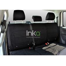 VW Amarok Rear Seat Inka Fully Tailored Waterproof Seat Covers Black