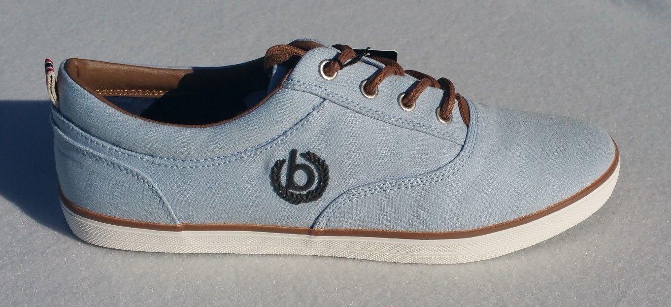 Bugatti Herren Sneaker aus Canvas Größe 42 und 46 wählbar