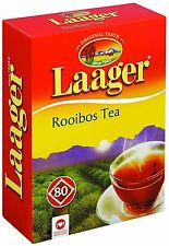 Laager South African Rooibos Tea - 80 count, 7 oz, 100% Naturally Organic Tea,