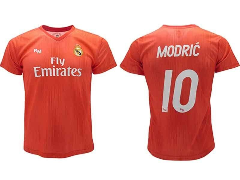 hot sale online b9a35 f39fe Third 10 Luka 2018 Offizielle Madrid Real Modric Trikot Rot ...