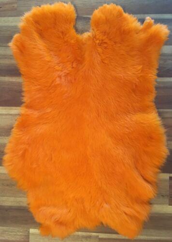 Haute Qualité Dyed Rabbit Skin Pelt Fourrure véritable 20 Couleurs Disponibles