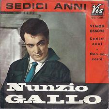 SEDICI ANNI - NON SO COS'E' # NUNZIO GALLO