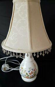 Aynsley Bone China Table Lamp, Cottage