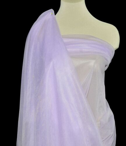 """NYLON TRICOT KNIT  SHEER LINGERIE FABRIC LILAC  108/"""" WIDE BTY"""