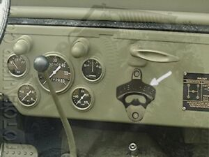 decapsuleur biere coca tableau de bord jeep willys ford gpw ebay. Black Bedroom Furniture Sets. Home Design Ideas