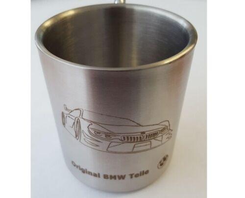 Original BMW Edelstahlbecher Becher Tasse