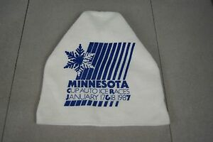 Vintage-1987-St-Paul-Winter-Carnival-Minnesota-Cup-Ice-Races-hat-cap-tuque
