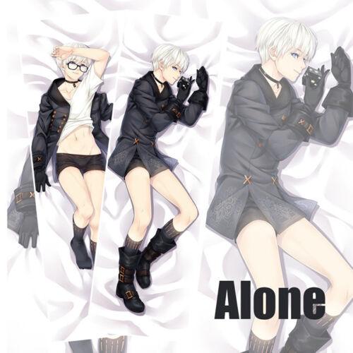 New NieR Automata RepliCant Gestalt Dakimakura 9S Anime Body Pillow Case Cover
