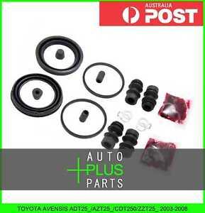 Fits-TOYOTA-AVENSIS-2003-2008-Brake-Caliper-Cylinder-Piston-Seal-Repair-Kit