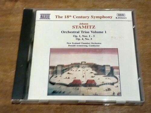 1 of 1 - Johann Stamitz - Orchestral Trios Nos. 1 - 3 - Donald Armstrong (CD)