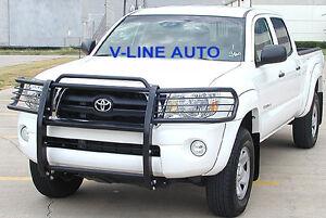 fits: 2005-2013 Toyota TACOMA - BLACK - HPT GRILL BRUSH GUARD / GRILLE GUARD