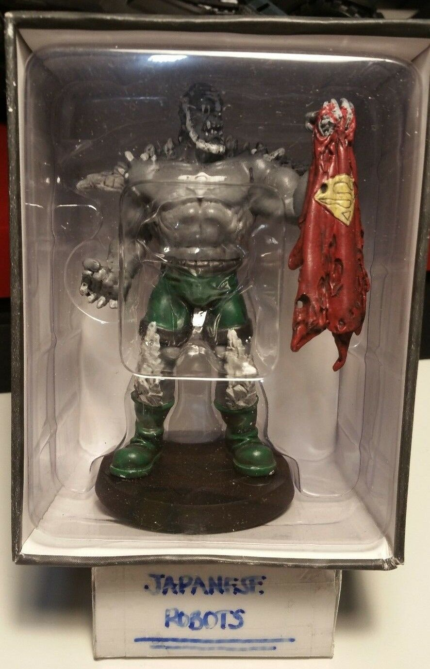 Doomsday Limited Edition lead statue figure figurine by Eaglemoss DC Comics 4