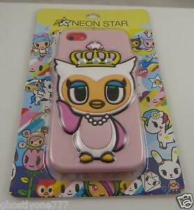 fits-iPhone-5C-phone-case-neon-store-by-Tokidoki-owl-crown-tiara-cute-fun