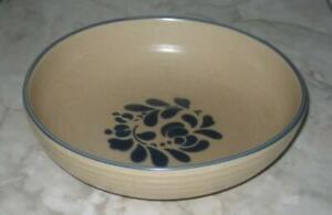 Pfaltzgraff-Folk-Art-Vegetable-Serving-Bowl-8-5-8-034-No-backstamp-or-markings