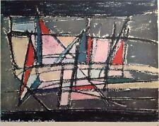 PATRICE (1944) Imprimée 1954 Abstrait Bram Van Velde Hans Hartung Lanskoy André