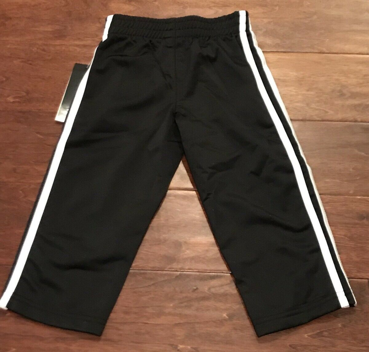 8b7f6636663a adidas Boys  Tricot Pant Black Toddler Boys 3t for sale online