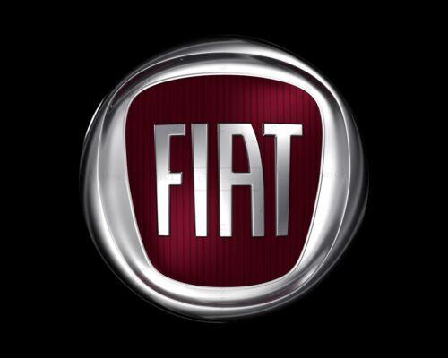 10cm-AUFKLEBER-STICKER Logo-Fiat AC018 UV/&Waschanlagenfest Auto KFZ bunt Emblem