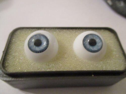 16 mm Blue Vintage Glass  Eyes  9 mm Pupil    CE