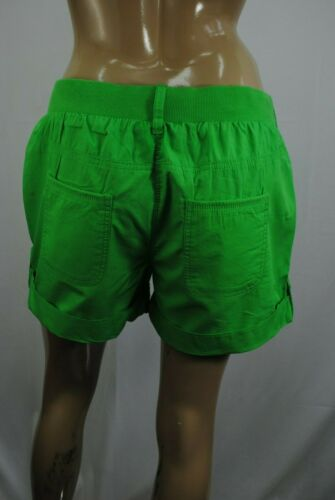 Womens George Casual Shorts Turn Up Cotton Plus Size 8 to 24 Ladies