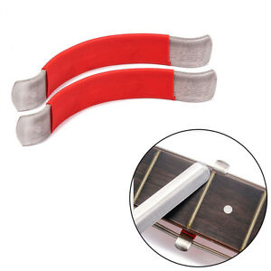 2x guitar string spreaders luthier care tool for cleaning fretboard red 664171564268 ebay. Black Bedroom Furniture Sets. Home Design Ideas