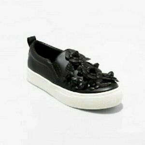 Target Samara Black Flower Slip