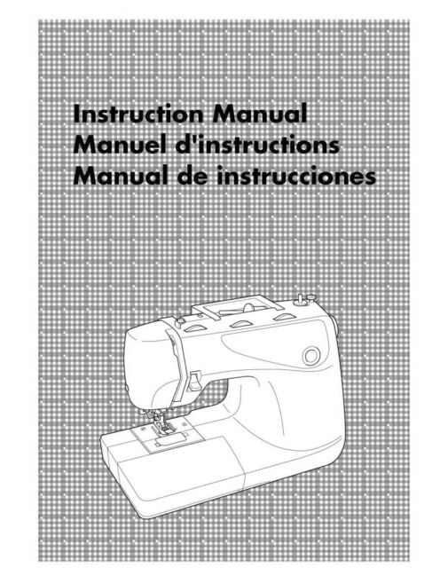 Brother CE-4000 Sewing Machine Owners Instruction Manual Reprint FREE SHIPPING