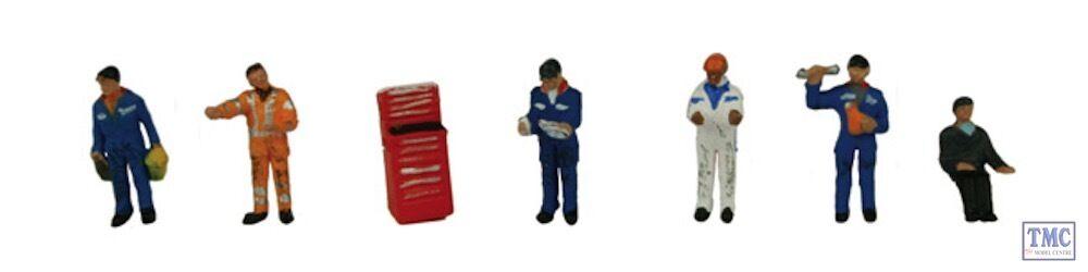 379-311 Scenecraft N Gauge Traction Maintenance Maintenance Maintenance Depot Workers  Tu satisfacción es nuestro objetivo