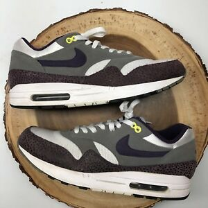 Details about NIKE AIR MAX 1 SAFARI GRAND PURPLE Sz 12 ATMOS PATTA 180 90 SUPREME Parra Kith