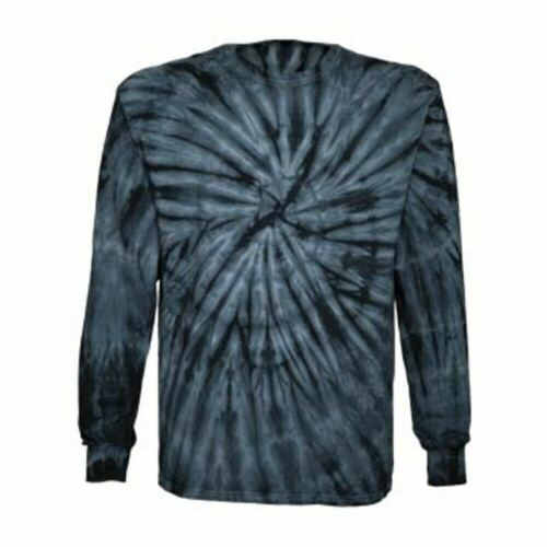 Dyenomite Spiral Tie Dye Long Sleeve Shirt EDM Hippie Stoner Mens Womens 240
