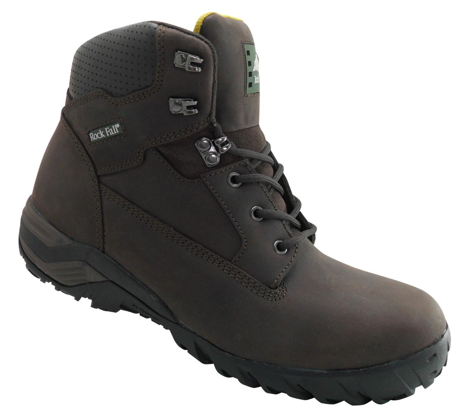 Rock Fall Flint Braun S3 SRA Composite Toe Cap Hiker Safety Stiefel Work Stiefel PPE