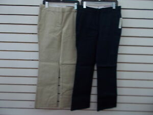 df5f8f8ca2d Girls Dockers Uniform Khaki or Navy Str Sk Bootcut Pants Plus Size ...