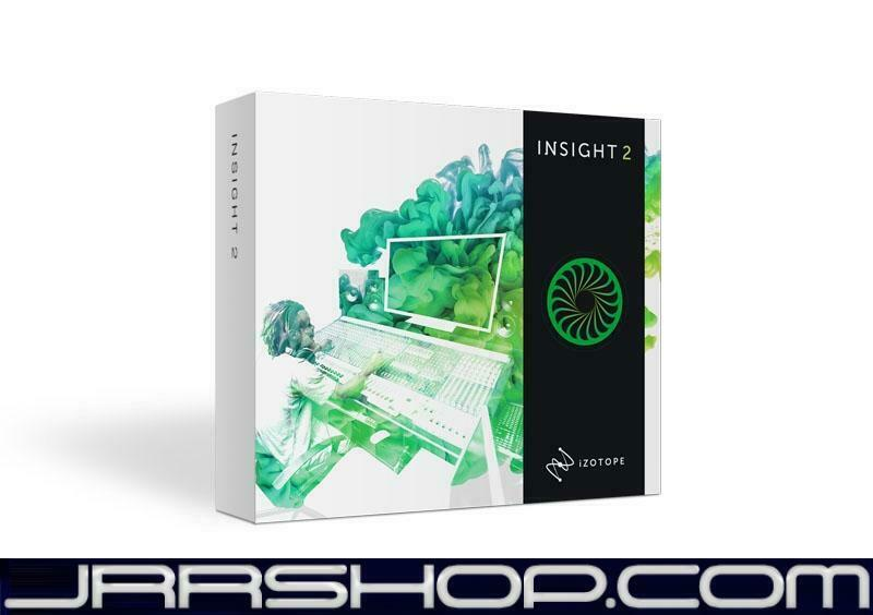 IZotope Insight 2 Upgrade from Insight 1 eDelivery JRR Shop