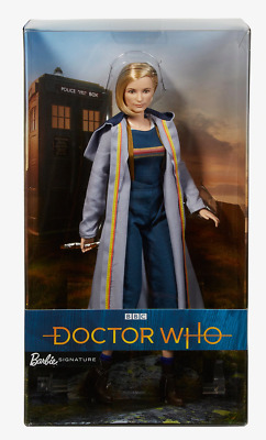 BBC Barbie Doll Mattel DOCTOR WHO Thirteenth Dr Sonic Screwdriver Limited SEALED