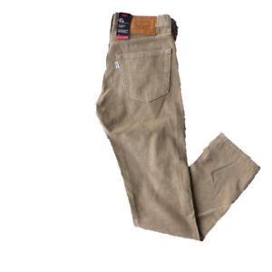 Levis-511-Slim-Stretch-Kork-Herren-Men-Trouser-Hose-Five-Pocket-Braun