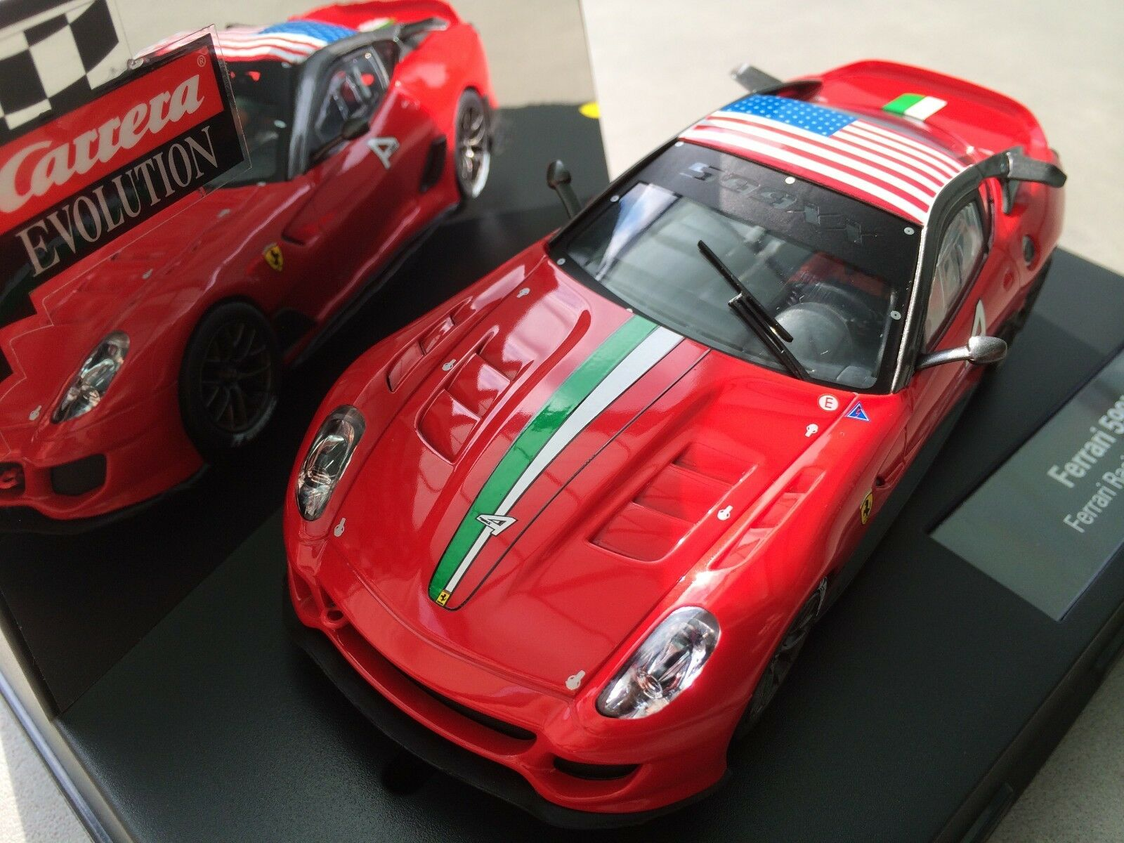 Carrera Evolution 27400 Ferrari 599XX Ferrari Racing Days   no. 4   NIP