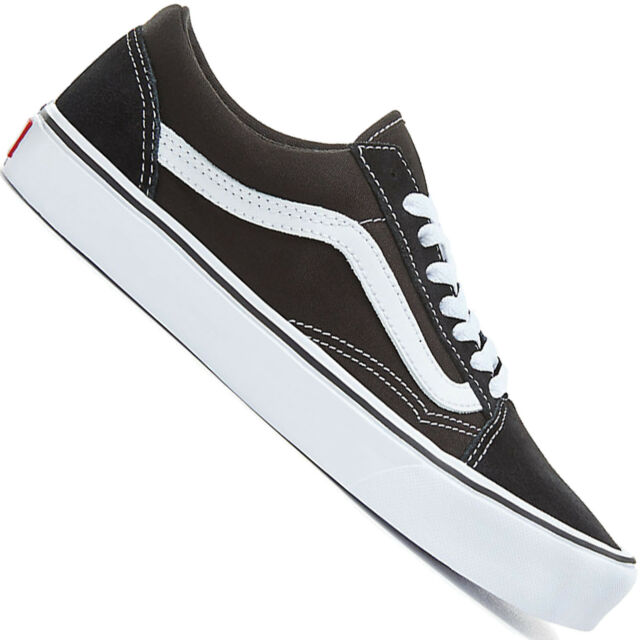 32ebdb39e30 VANS Old Skool Lite Unisex Footwear Shoe - Suede Canvas Black White ...